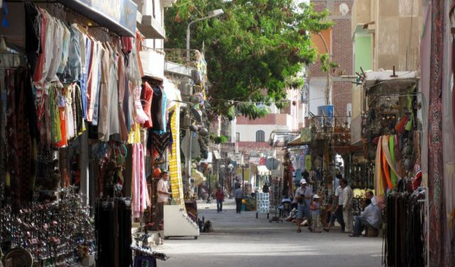 Traditionell Markt in Hurghada